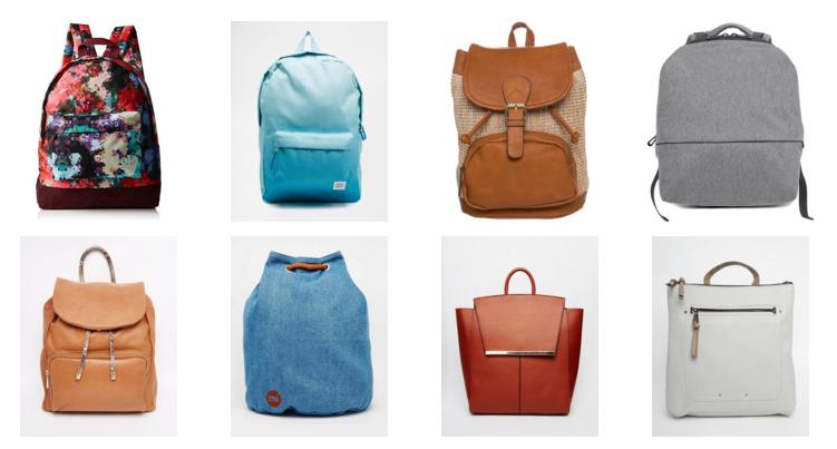 Stylish backpacks for travelling