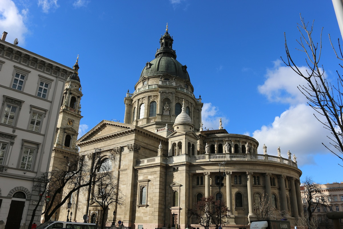 St Stephen's Bascilica in Budapest