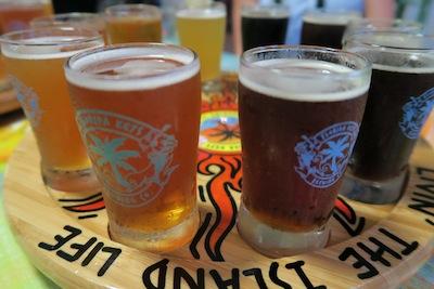 Beer tasting in Key West