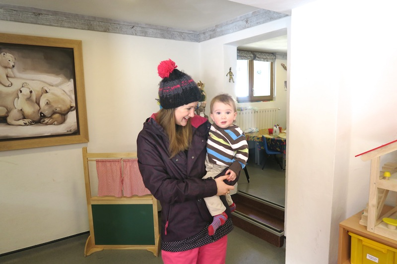 Childcare at Hotel L'Aiguille Percee Tignes