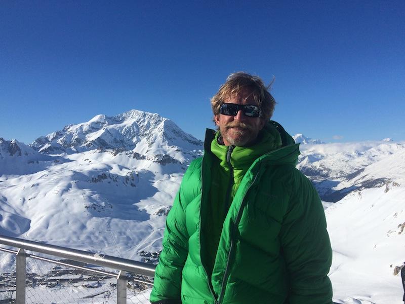 Claude, the ski instructor in Tignes