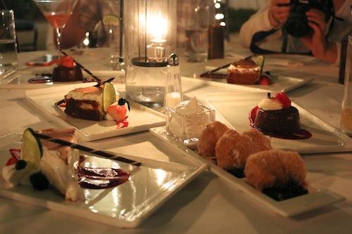 Dessert at Latitudes Restaurant, Key West.