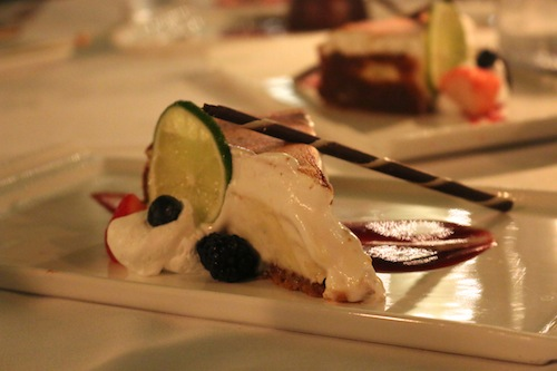 Key Lime Pie at Latitudes Restaurant, Key West.