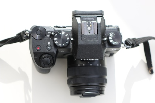 Lumix G7 from above