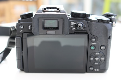 Lumix G7 touch screen