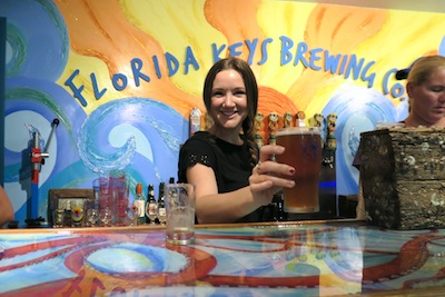 The Travel Hack at Florida Keys Brewing Co.