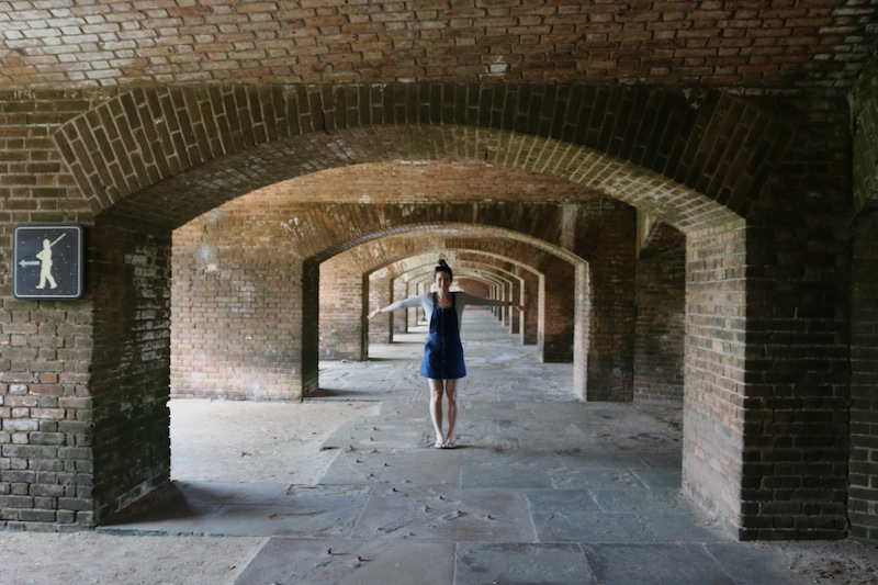The Travel Hack at Fort Jefferson