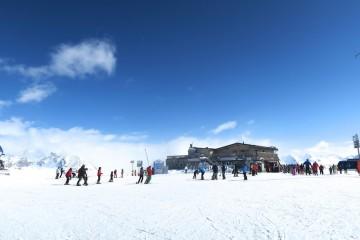 Tignes skiing