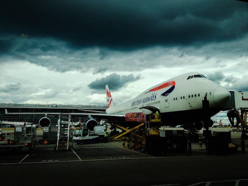 Travel hacking with British airways