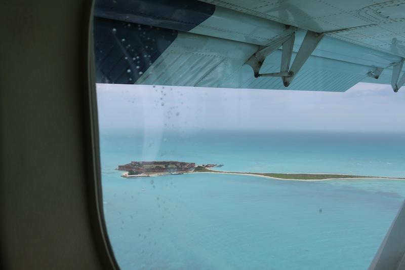 Views from the seaplane Florida Keys