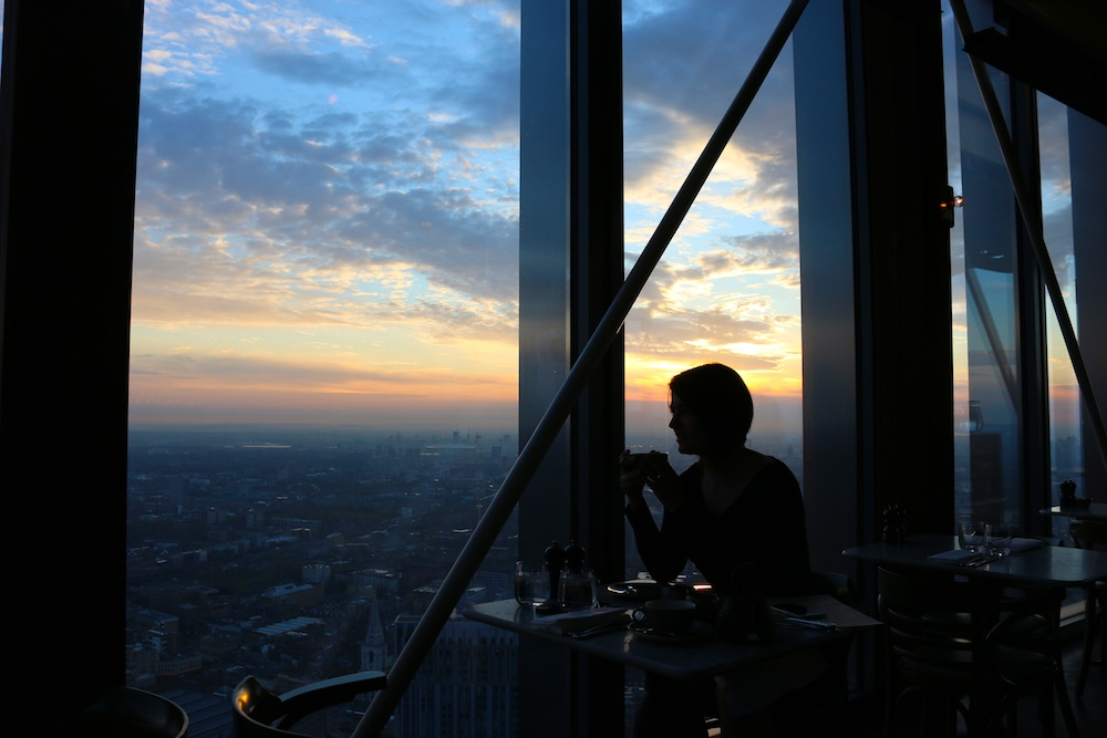Elle Croft at Duck and Waffle