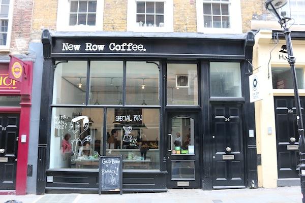 New Row Coffee, London