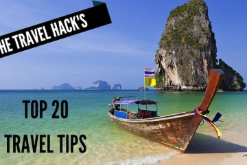 The Travel Hack's top 20 travel tips