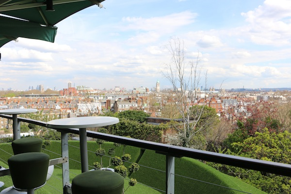 Views from Kensington Roof Gardens