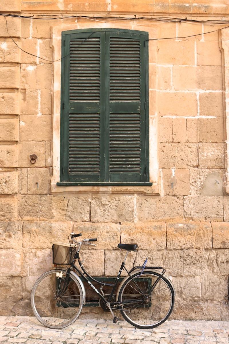 Bike in Menorca