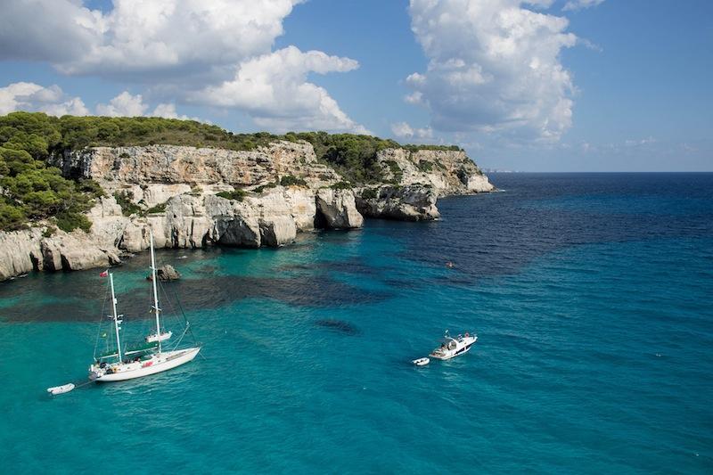 Boats in Menorca