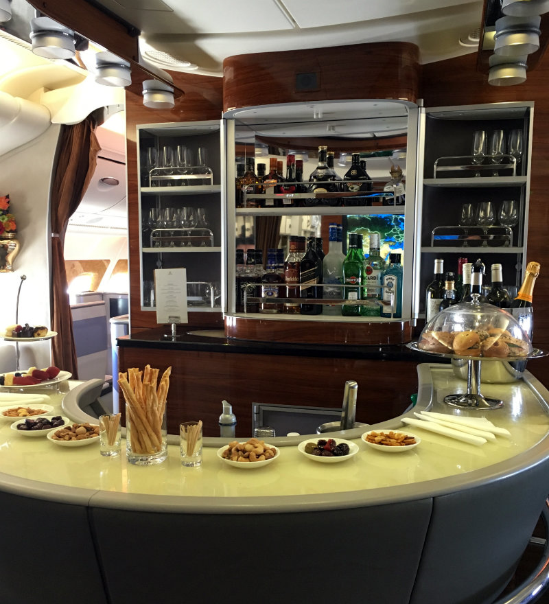 What it's like to fly Emirates Business Class