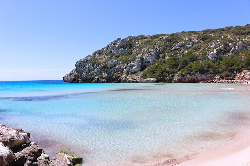 Cala en Porter Beach Menorca