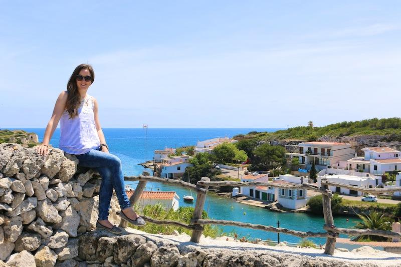 Cala sant Esteve in Menorca