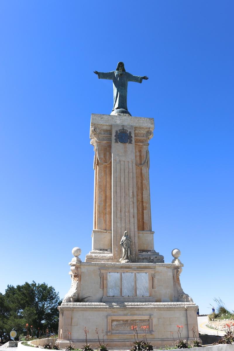 Status at Monte Toro, Menorca