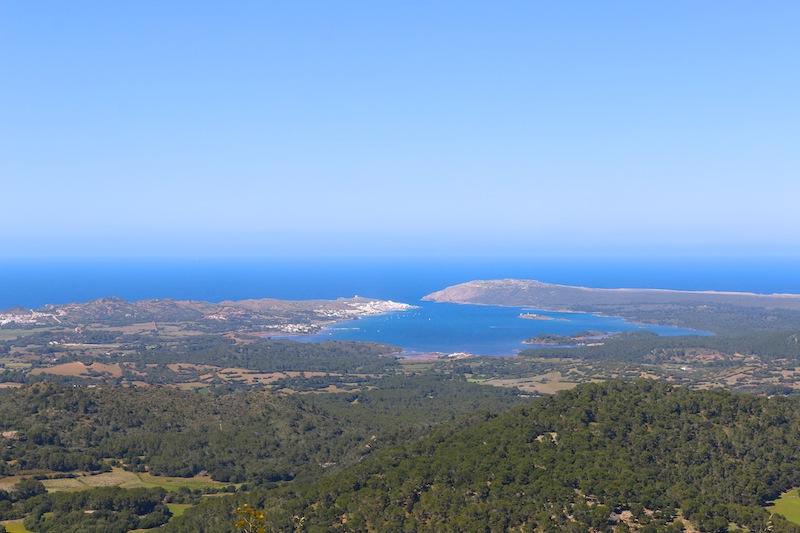 Views from Monte Toro, Menorca
