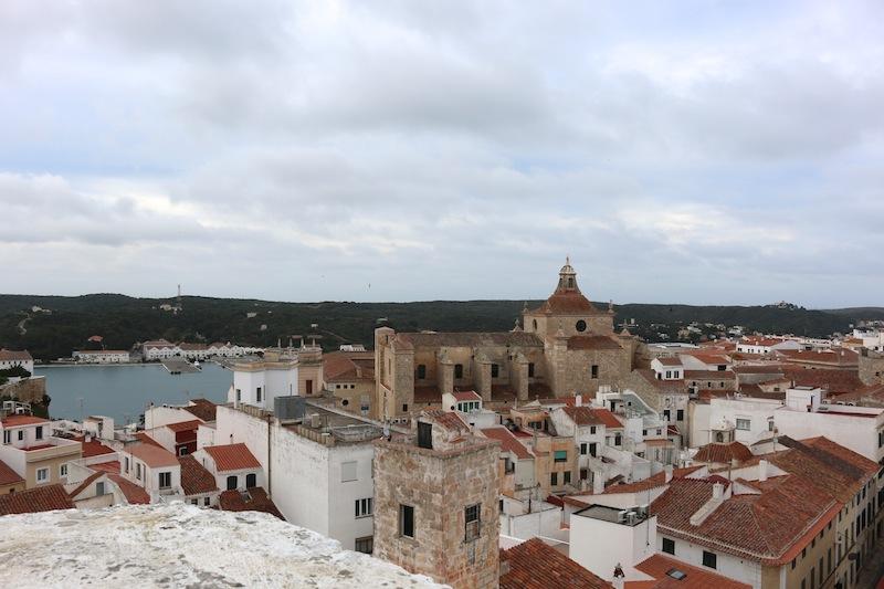 Views over Mahon