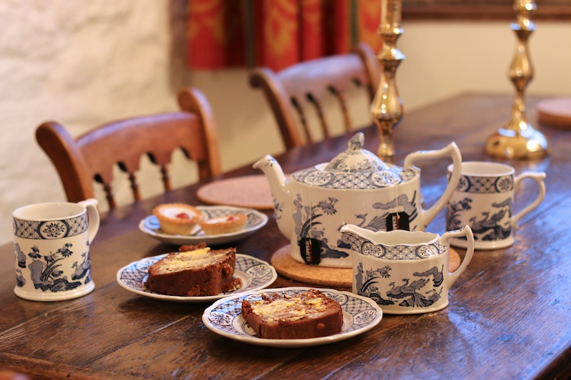 Afternoon tea in the Bath Tower