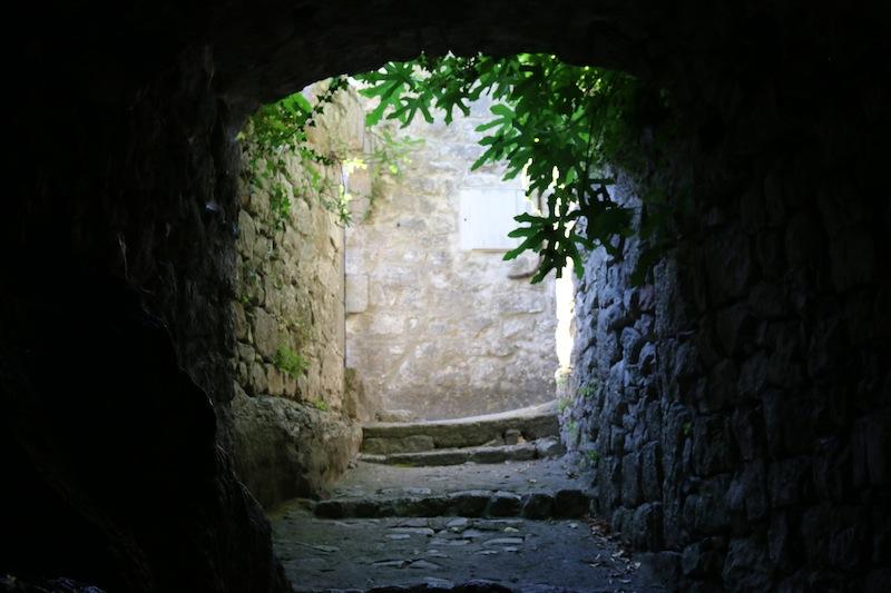 Alleyway in Balazuc