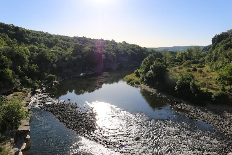 Ardeche River, Balazuc