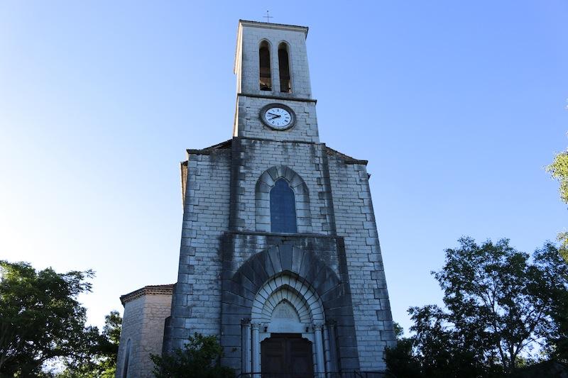 Balazuc church