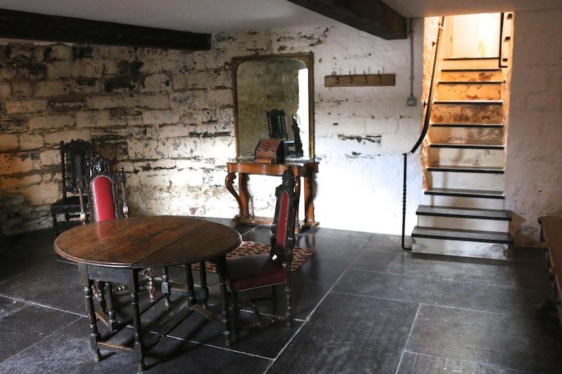 Bath Tower Caernarfon basement