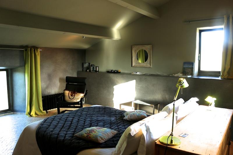 Chateau de Balazuc bedroom