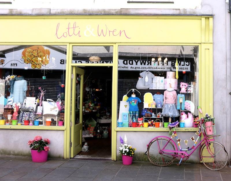 Cute boutiques in caernarfon
