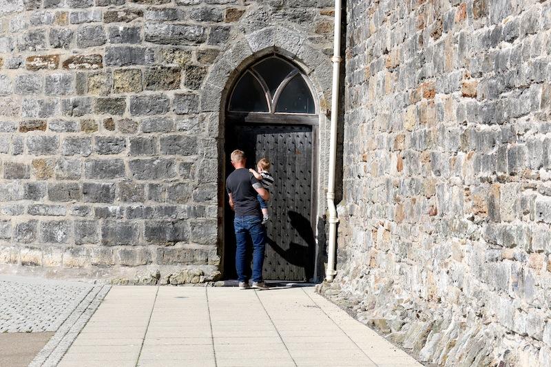 Entrance to Bath Tower, caernarfon