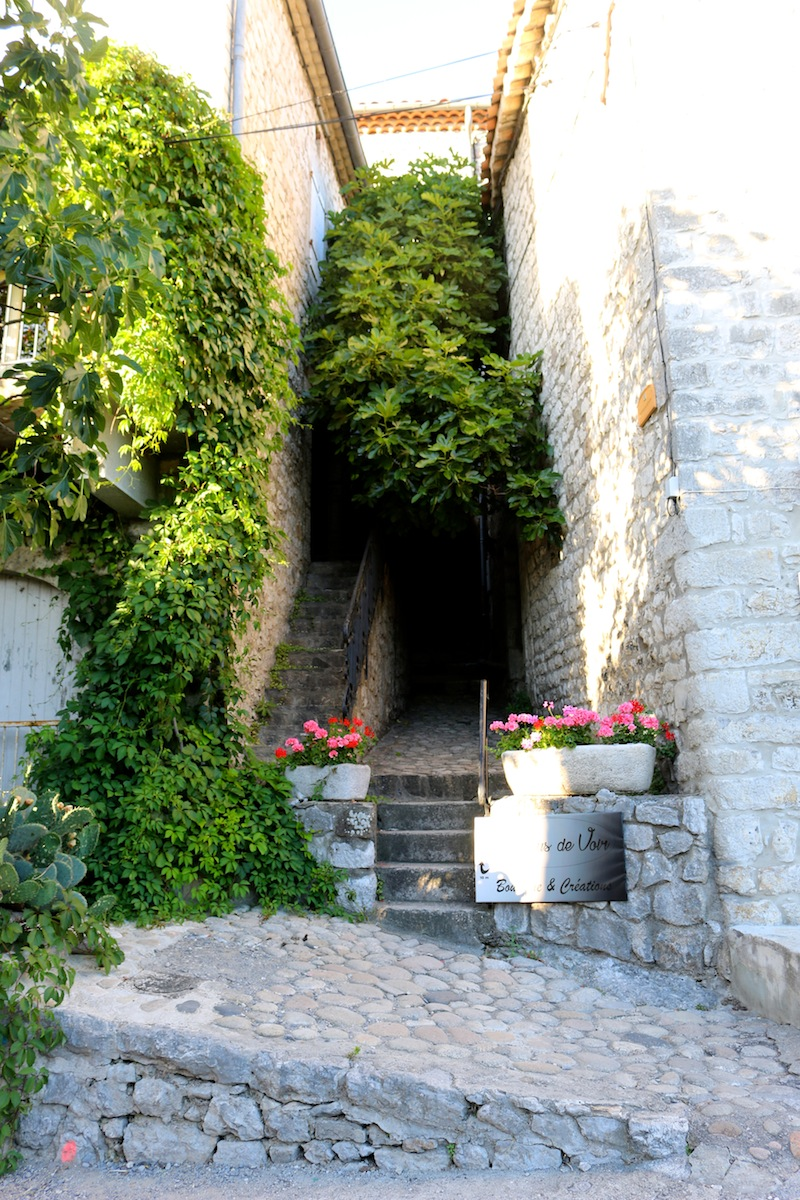 Hidden alleys in Balazuc