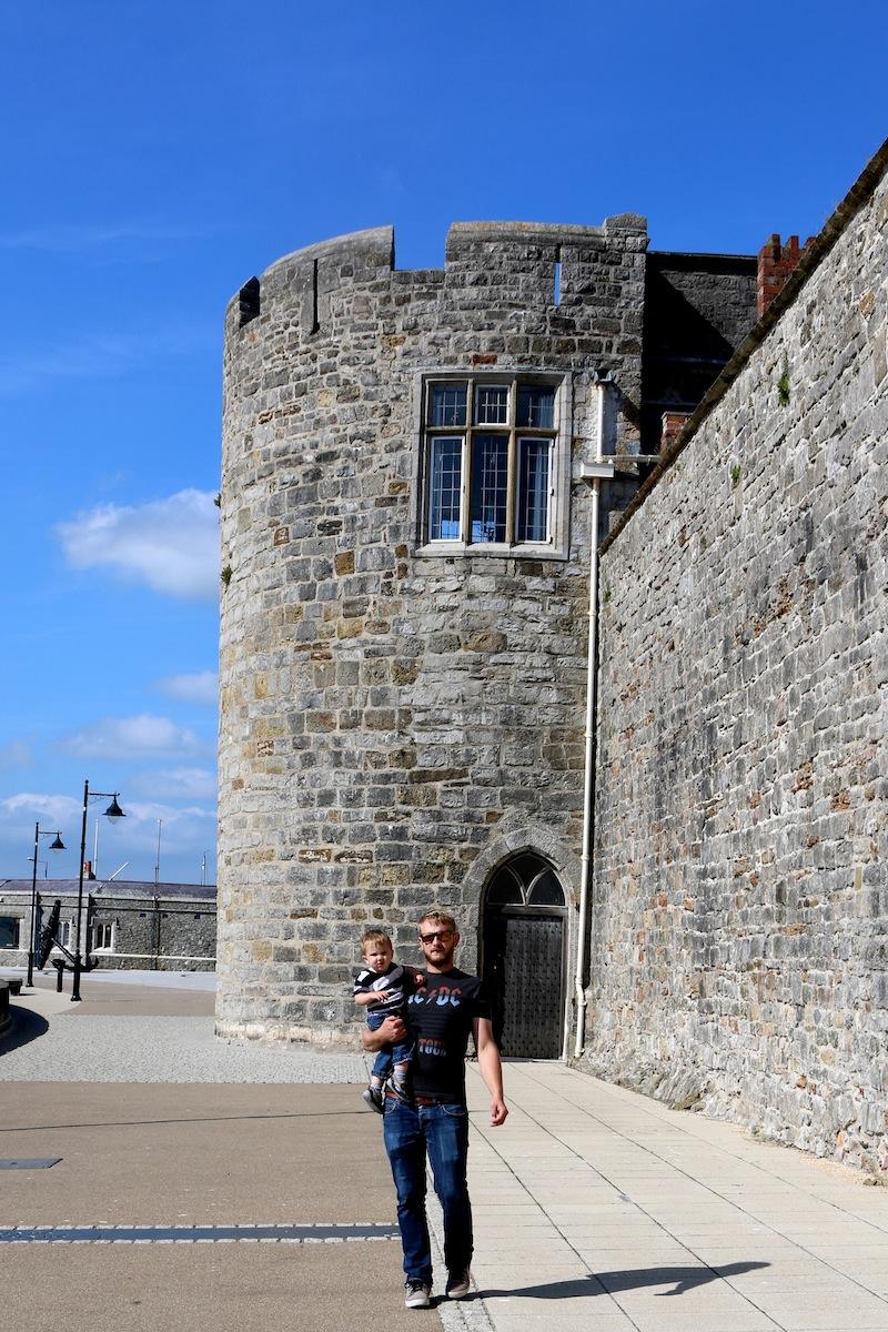 Outside Bath Tower, caernarfon