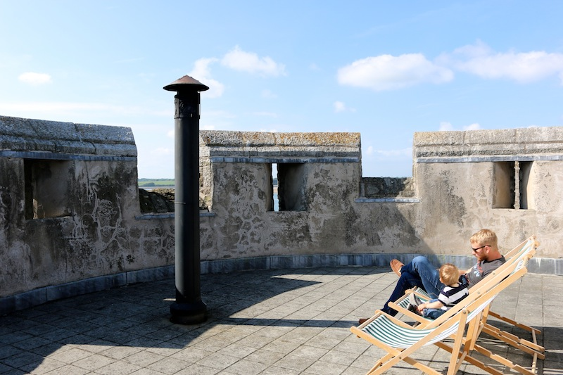 Rooftop at Bath Tower