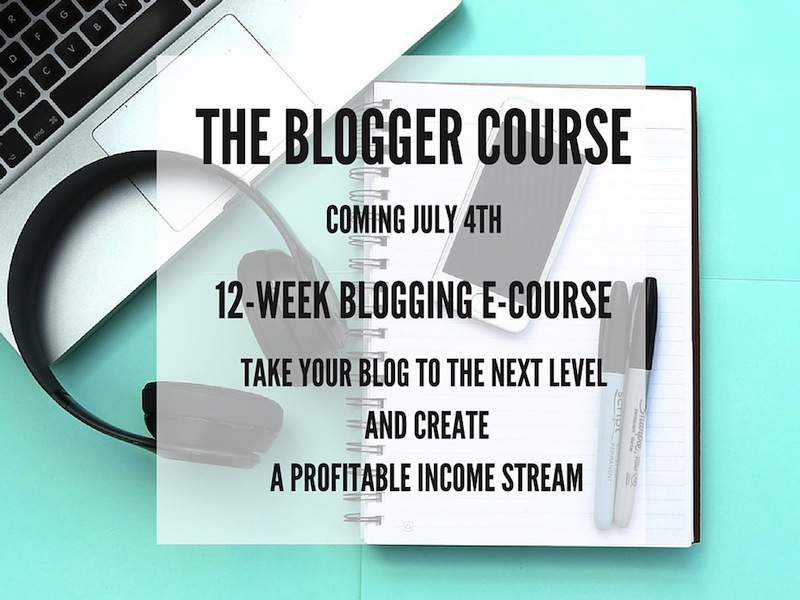 THE BLOGGER COURSE (1)