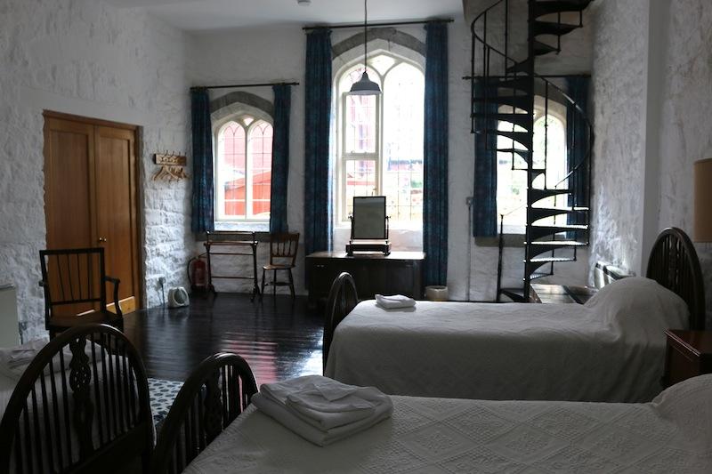 Triple bedroom at Bath Tower Caernarfon