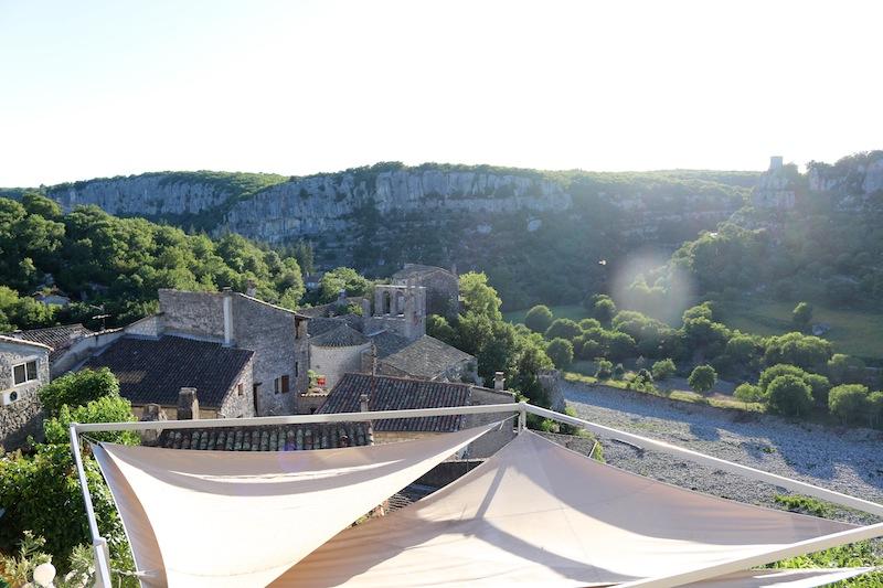 Views from Chateau de Balazuc