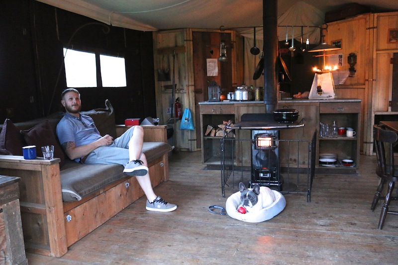 Featherdown Glamping in Lancaster Review