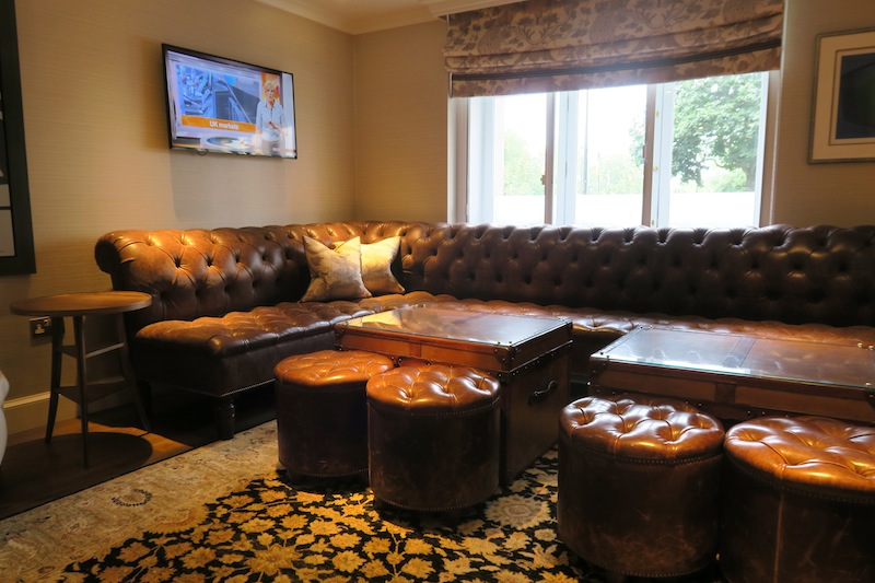 Marriott Hotel Park Lane executive lounge