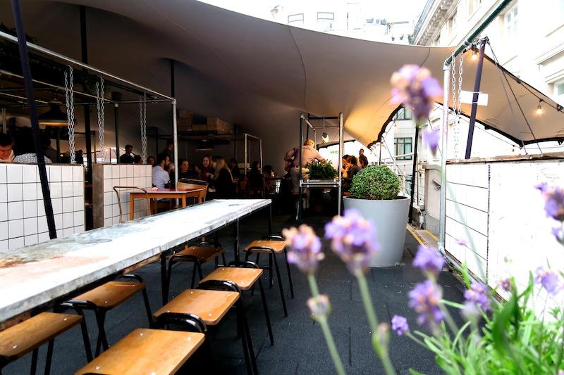 Notch London rooftop restaurant