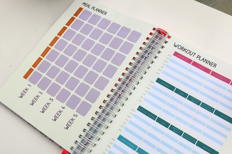 Unique Planners by Pirongs review - meal planner
