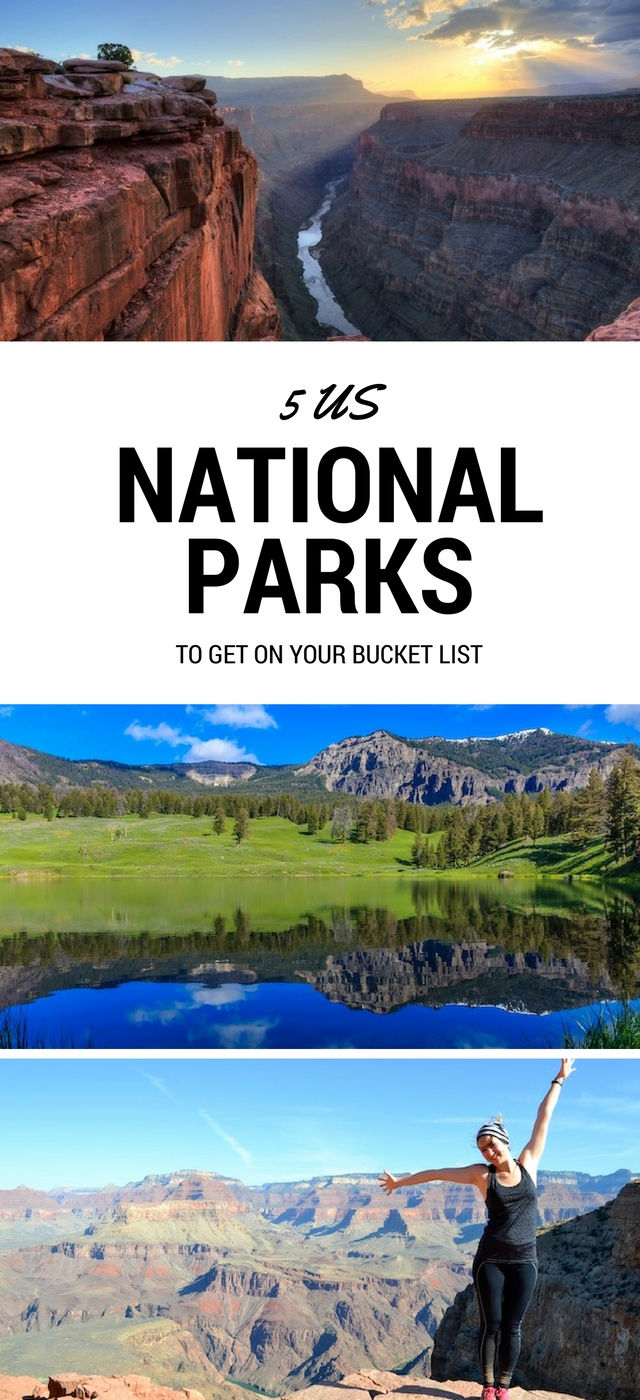 5 US national parks to get on your bucket list
