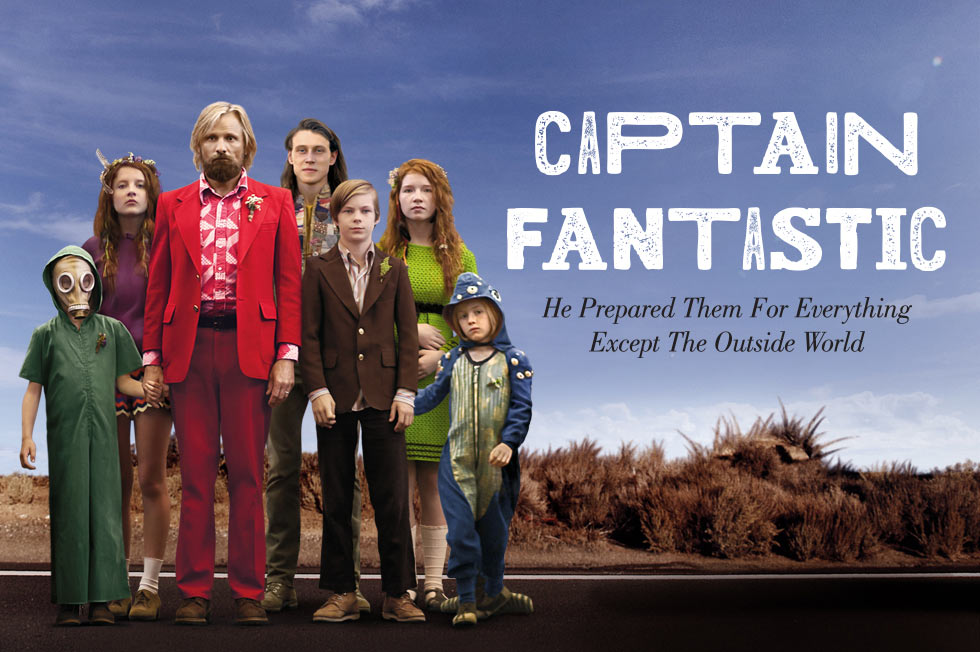 Win one of 50 pairs of tickets to see Captain Fantastic