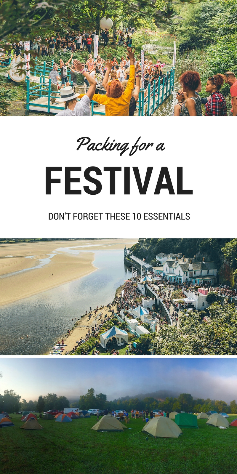 Festival Packing List - Essential Items