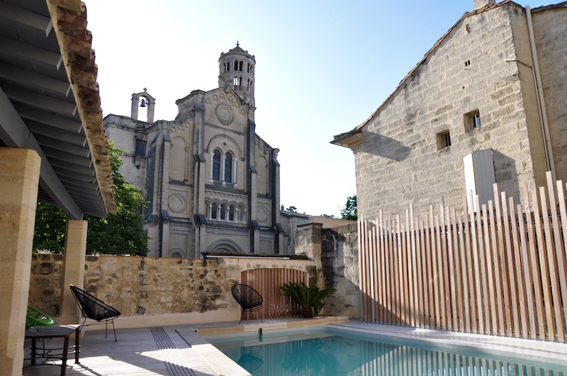 Hotel Entraigues Uzes Pool