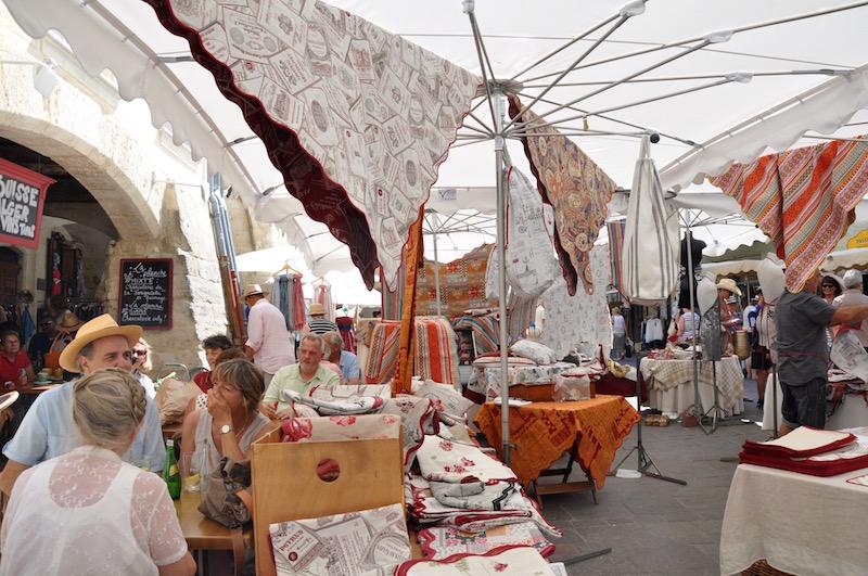 Linen Market Day Uzès