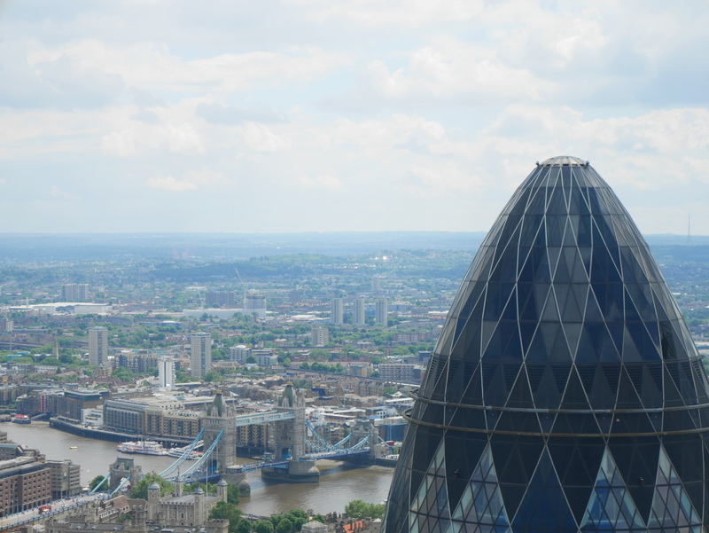 Top London Restaurants, Restaurants with a view, Duck and Waffle, Duck & Waffle